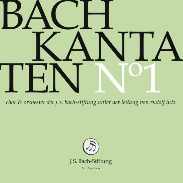 CD Bachkantaten N 1 Front