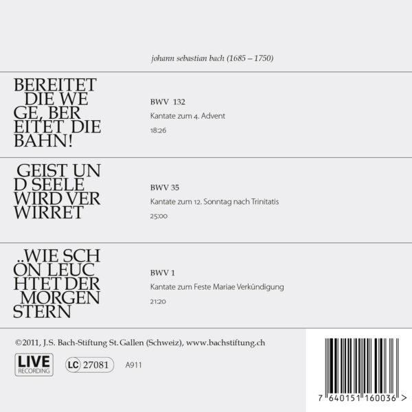 Bach-Kantaten N°3-478