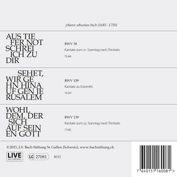 Bach-Kantaten N°7-487