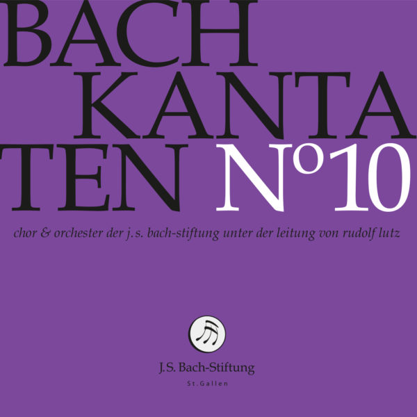 CD Bachkantaten N 10 Front