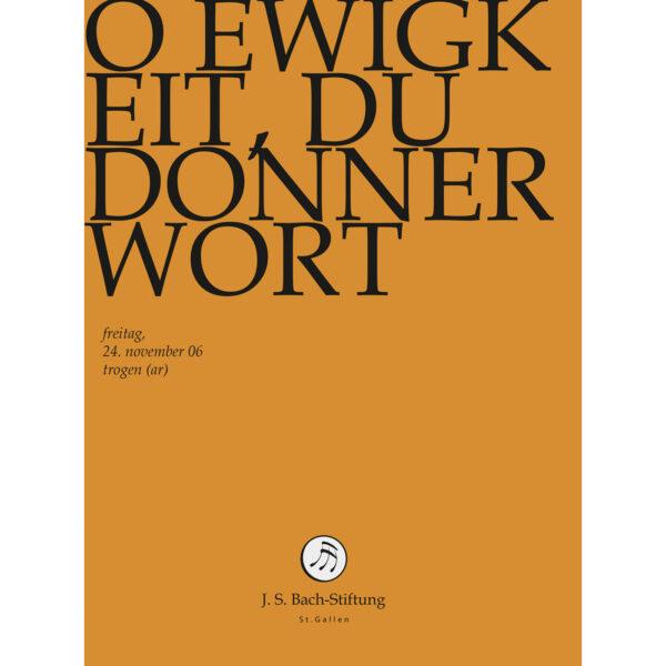 O Ewigkeit, du Donnerwort-214