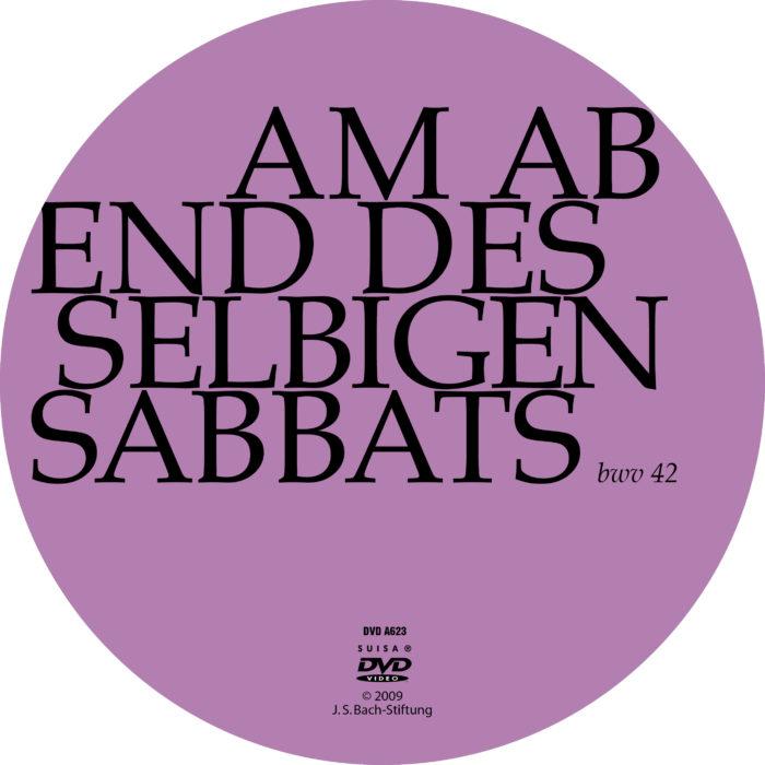 Am Abend aber desselbigen Sabbats