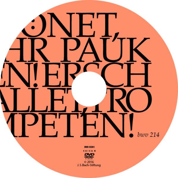 Tönet, ihr Pauken, erschallet, Trompeten-731