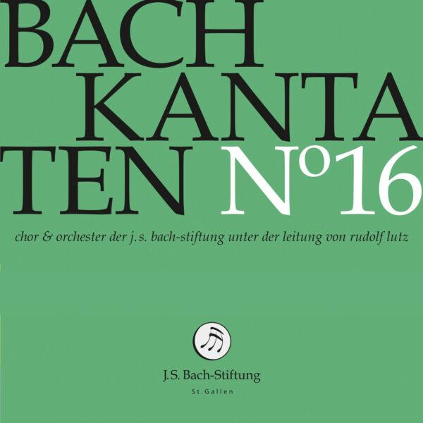 CD Bachkantaten N 16 Front