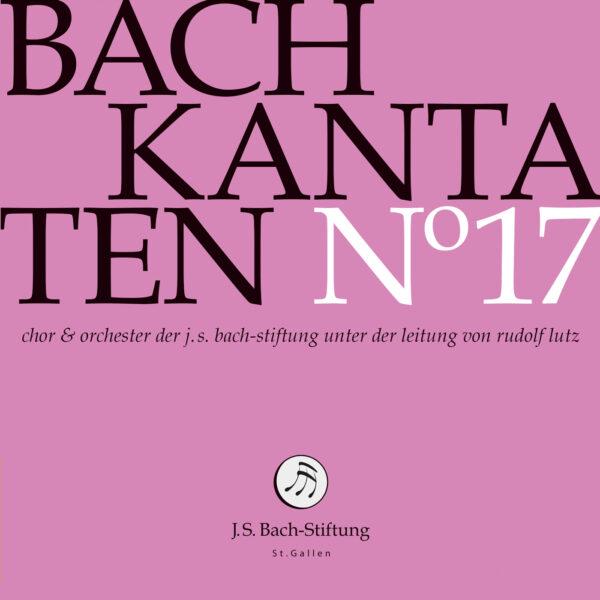 CD Bachkantaten N 17 Front
