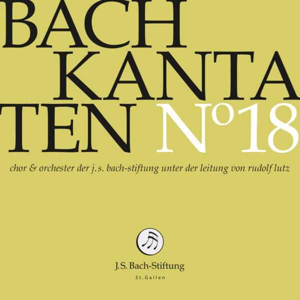 CD Bachkantaten N 18 Front