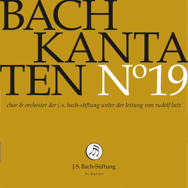 CD Bachkantaten N 19 Front