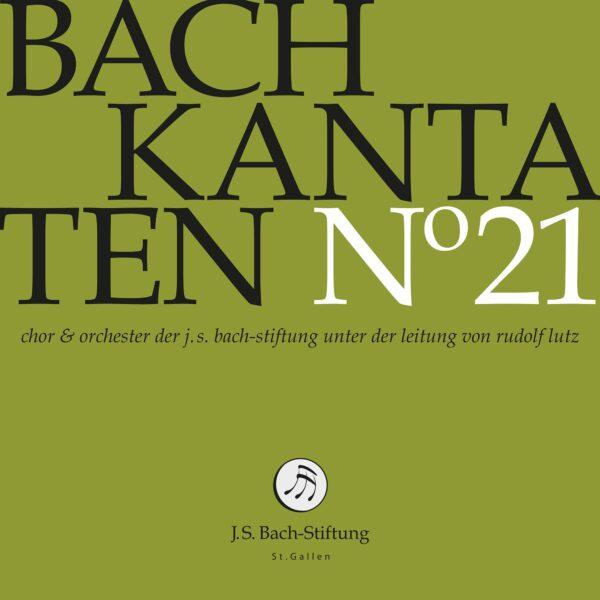 CD Bachkantaten N 21 Front