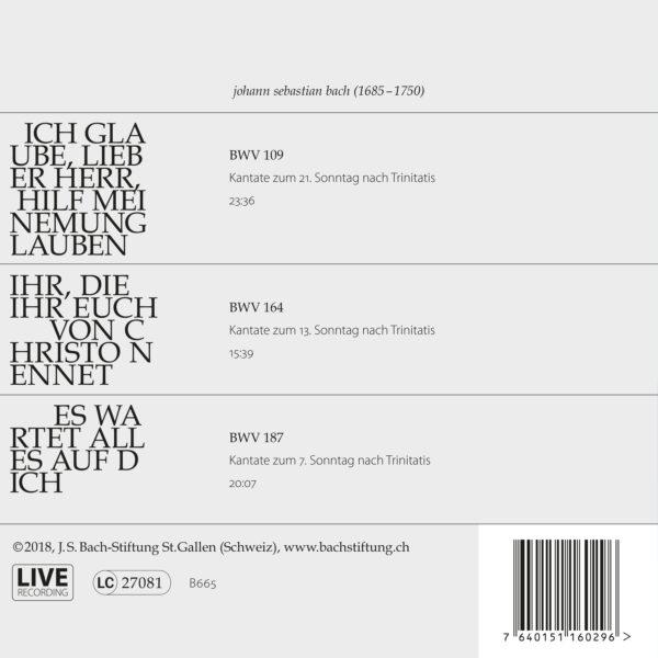 Bach-Kantaten N°23-1654