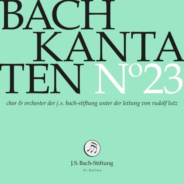 Bach-Kantaten N°23-0