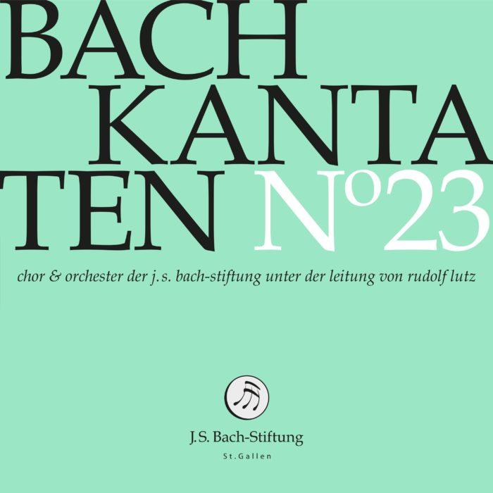 Bach-Kantaten N°23