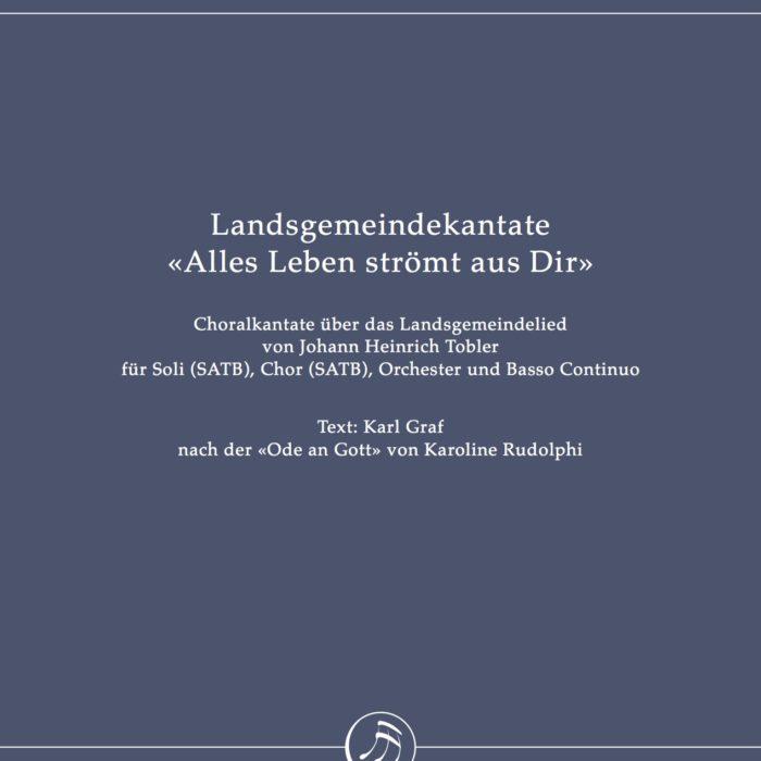 Landsgemeindekantate «Alles Leben strömt aus Dir» by Rudolf Lutz (full score)-0