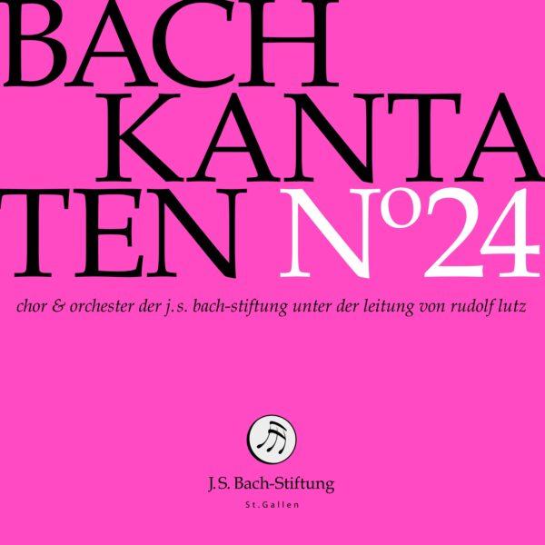 CD Bachkantaten N 24 Front