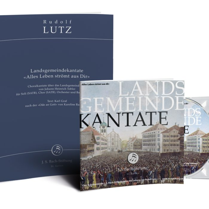CD and score of the «Landsgemeindekantate»-0