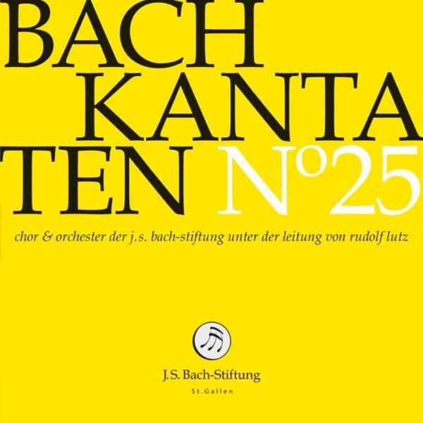 CD Bachkantaten N 25 Front