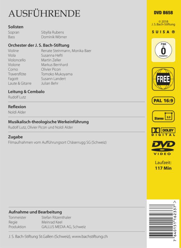 BWV212 Back Mer hahn en neue Oberkeet