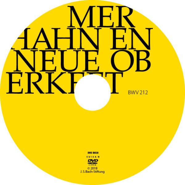 BWV212 Label Mer hahn en neue Oberkeet