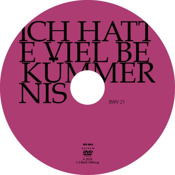 BWV021 Label Ich hatte viel Bekümmernis