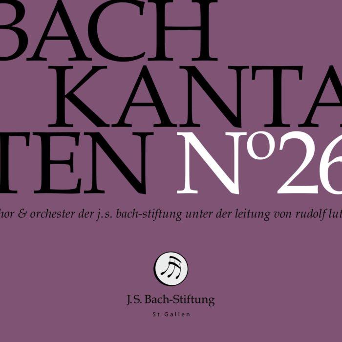 Bach-Kantaten N°26-0