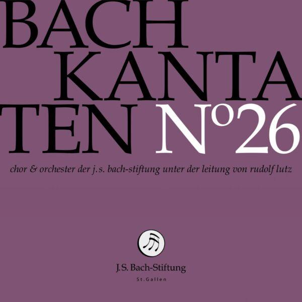CD Bachkantaten N 26 Front