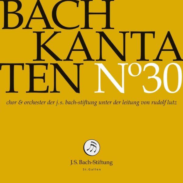 CD Bachkantaten N 30 Front