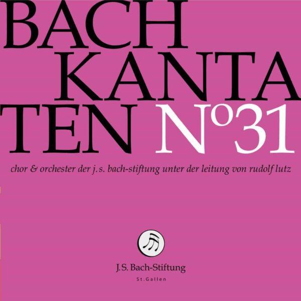 CD Bachkantaten N 31 Front