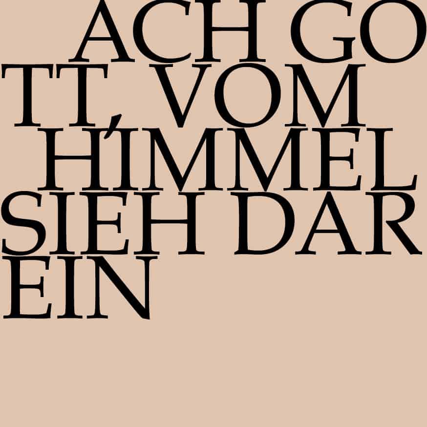 BWV 2: Ach Gott, vom Himmel sieh darein