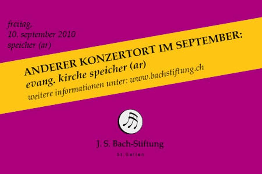 Neuer Konzertort im September