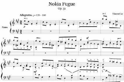 Nokia meets Bach in Appenzellerland