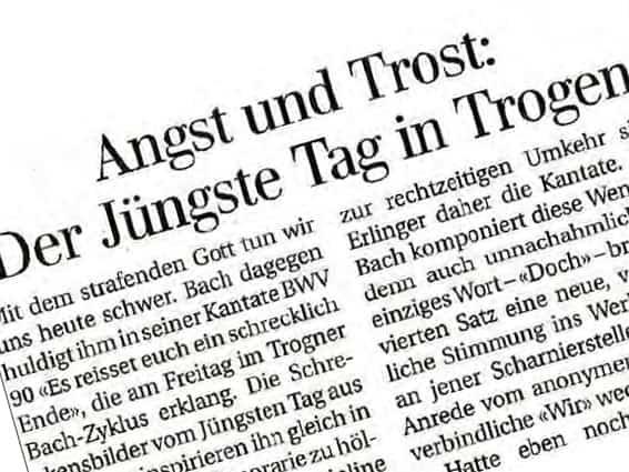 """""""Angst und Trost"""""""