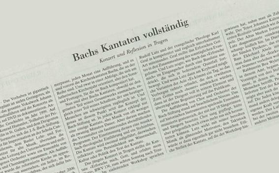 """Bachs Kantaten vollständig"""