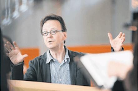 Das Schweizer Fernsehen unterwegs mit Rudolf Lutz