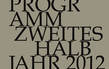 Konzertprogramm zweites Halbjahr