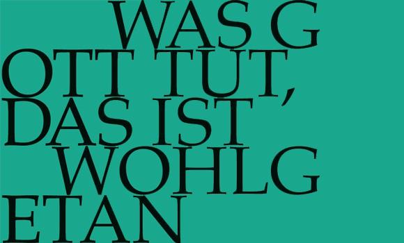 BWV 98 am 23. Oktober in Trogen
