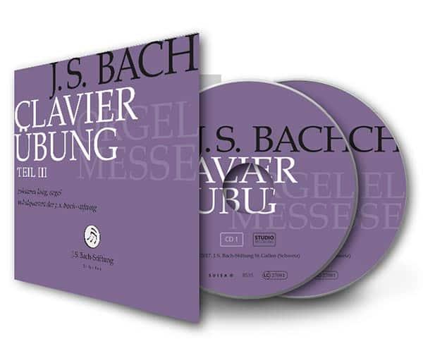 Medienmitteilung: Neue CD im Label «J. S. Bach-Stiftung»: «Orgelmesse» mit dem preisgekrönten Organisten Johannes Lang. CD-Taufe: 25. Februar, Stein