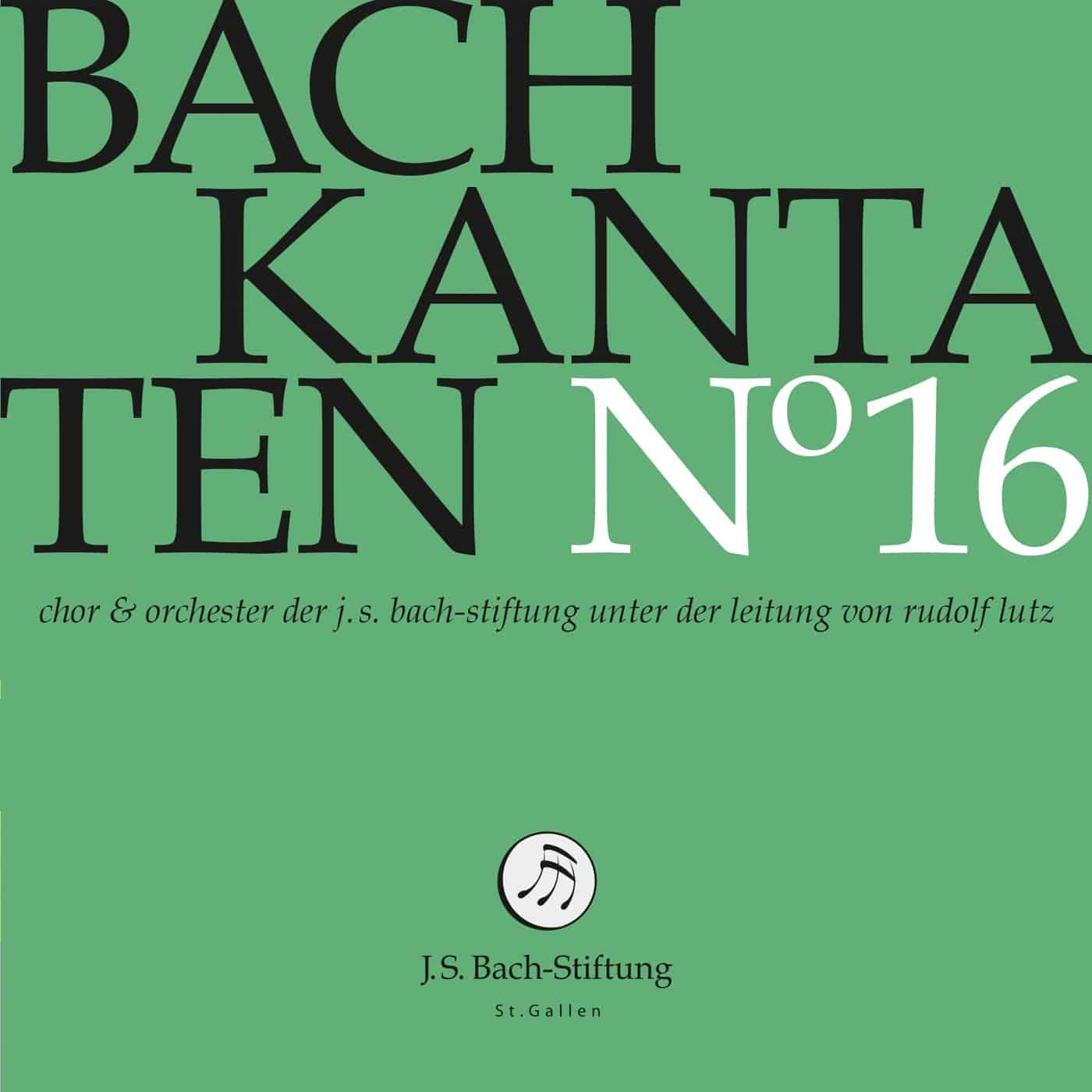 Nuevo CD de la edición de las cantatas de Bach.