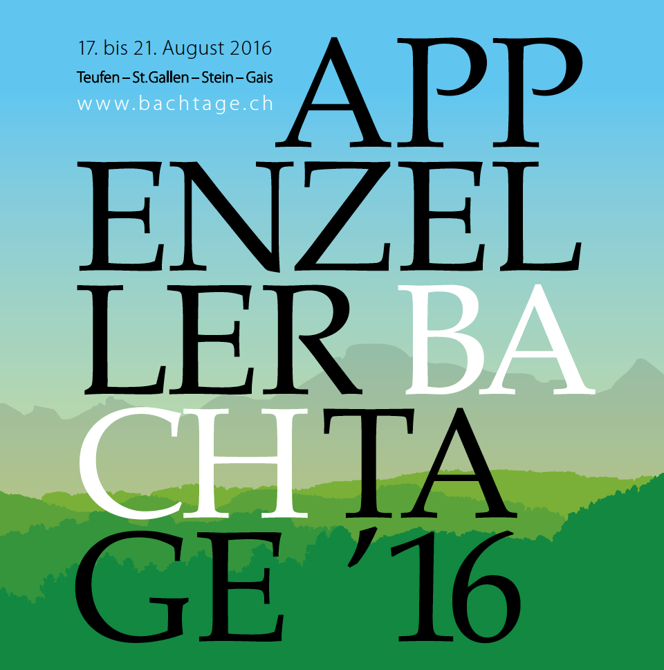 Generalprogramm Appenzeller Bachtage 2016