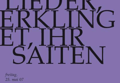 BWV 172 und BWV 34 am Pfingstsonntag