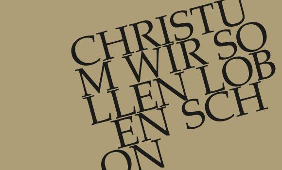 BWV 121 am 19. Dezember in Trogen