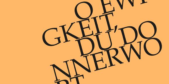 BWV 20 am Sonntag auf SR 2 Kulturradio und auf WDR 3