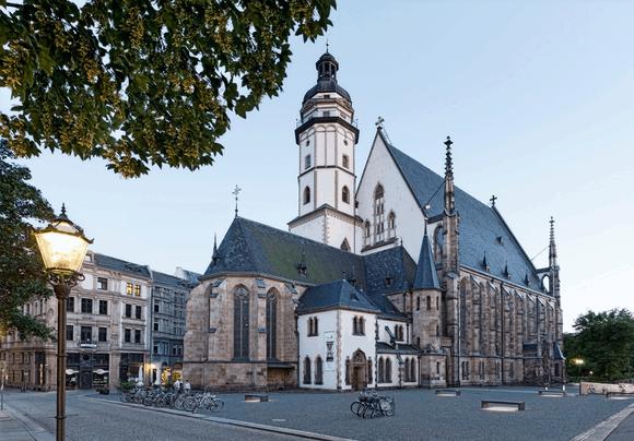 Rudolf Lutz und das Ensemble der J.S. Bach-Stiftung zu Gast in Leipzig