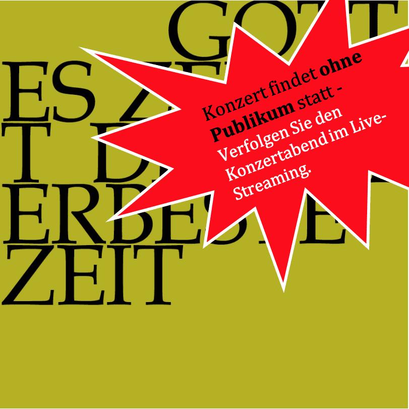Konzert am 20.03.2020 in Speicher leider ohne Publikum – Live Streaming!