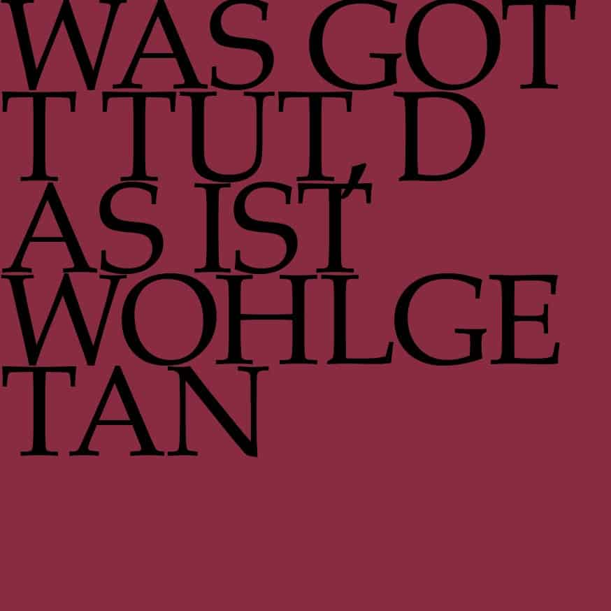 BWV 100: Was Gott tut, das ist wohlgetan