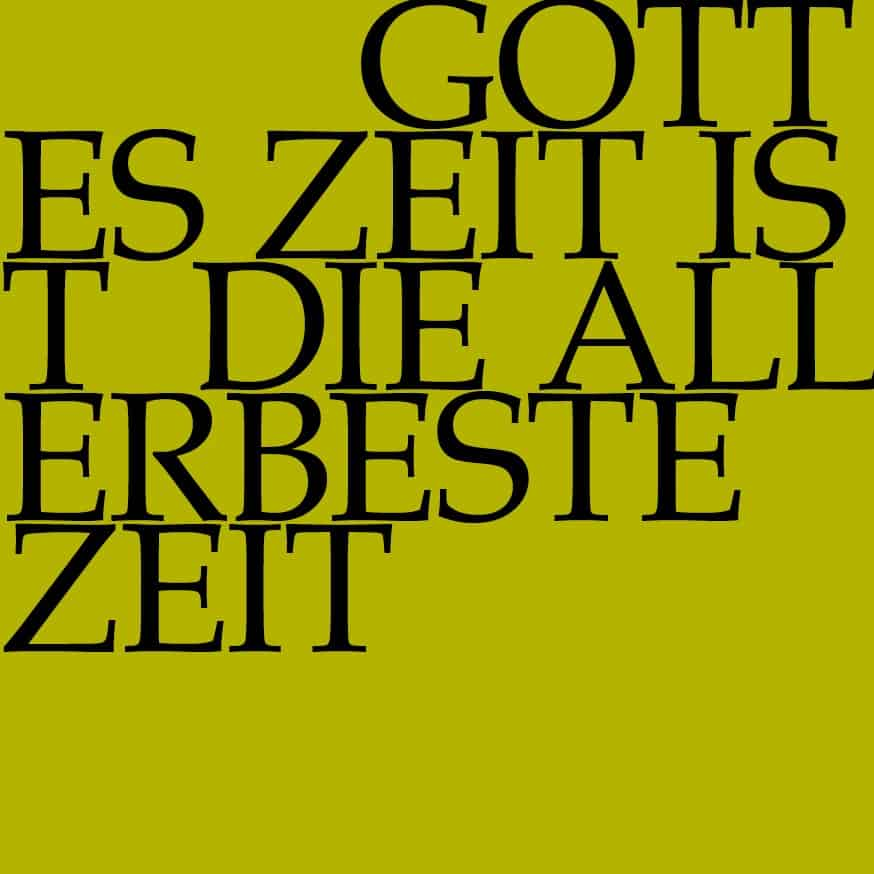 BWV 106: Gottes Zeit ist die allerbeste Zeit