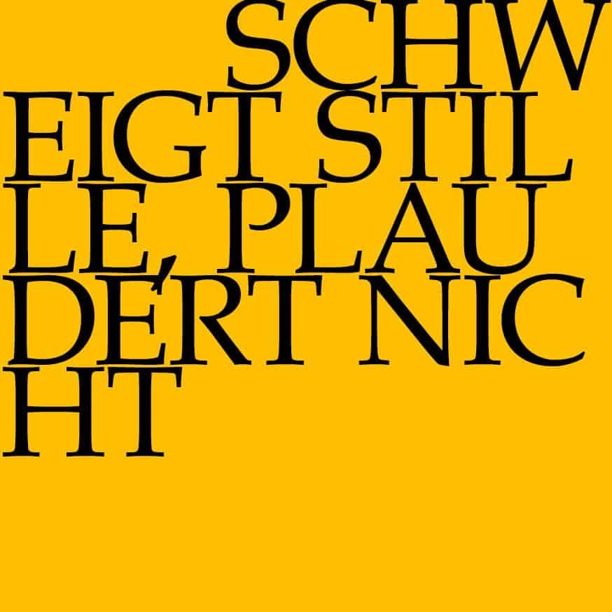 BWV 211: Schweigt stille, plaudert nicht