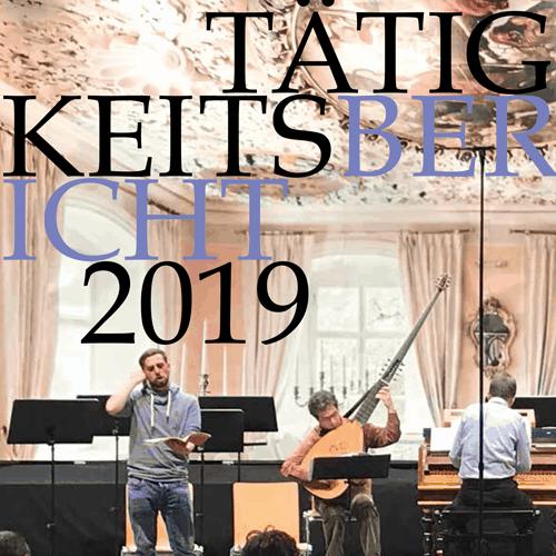 Tätigkeitsbericht 2019