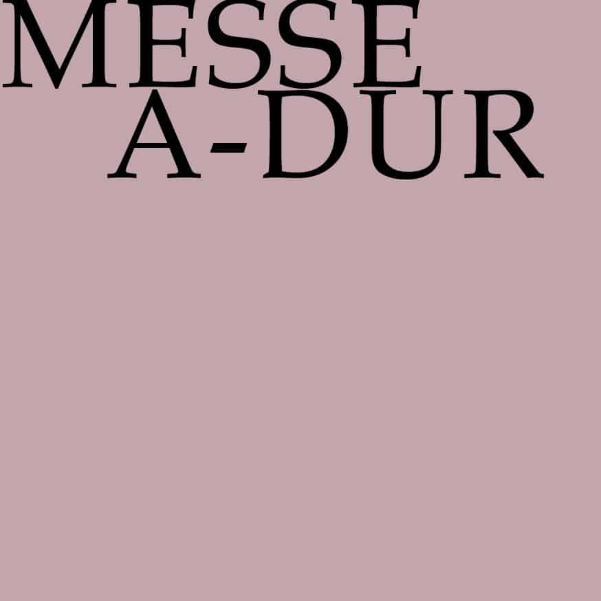 BWV 234: Messe in A-Dur