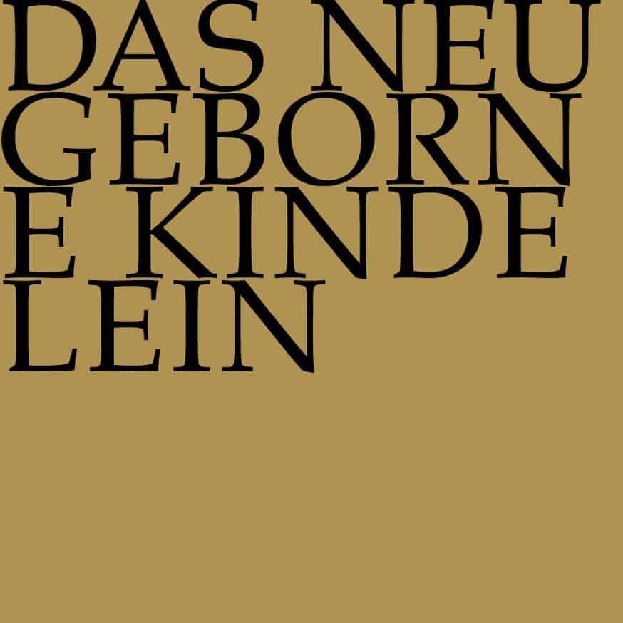 BWV 122: Das neugeborne Kindelein